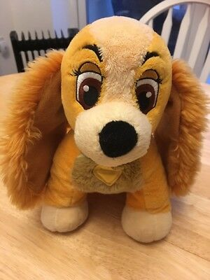 Disney Store Exclusive Lady And The Tramp - Lady Plush Soft Toy