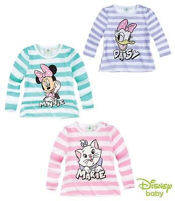 Baby Girls Disney Long Sleeve T-Shirt 3-24 month