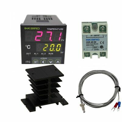 Inkbird AC 100 - 220V ITC-100VH Digital PID Thermostat Temperature Controller, K
