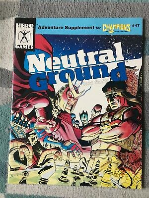 Champions Roleplaying Neutral Ground