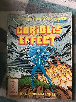 Champions Roleplaying Coriolis Effect