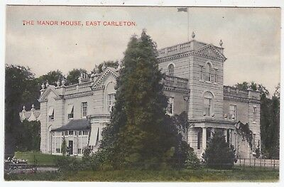 EAST CARLETON - The Manor House - South Norfolk  - c1900s era vintage postcard