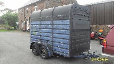 Rice Horse Trailer Horsebox Double,Catering / Storage Project