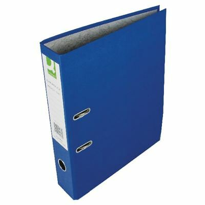 Q-Connect Blue Foolscap Paperbacked Lever Arch File (Pack of 10) [KF20030]
