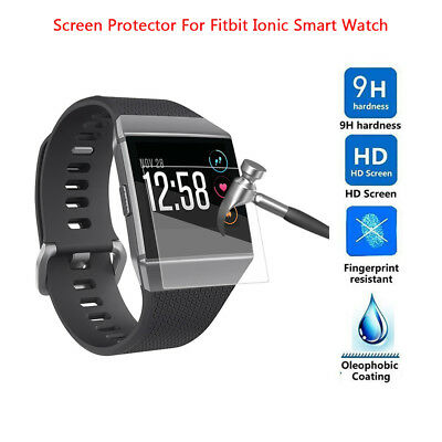 6pcs Ultrathin Clear HD Protective Waterproof Film Accessories For Fitbit Ionic