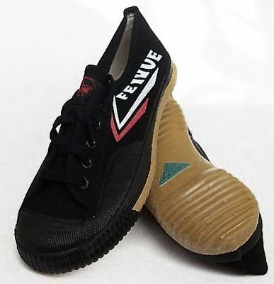 Black Feiyue Martial arts / Kung Fu shoes. FREE UK postage UK SELLER