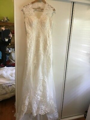 NEW Wedding Dress Size 12 Ivory