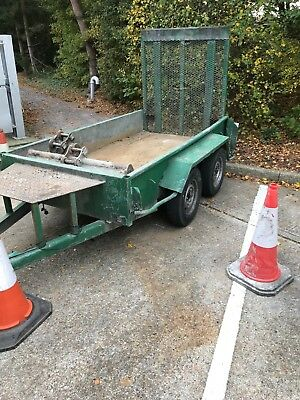 Plant Trailer. Mini digger trailer