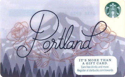 SCARCE   Starbucks 2017 PORTLAND  Card