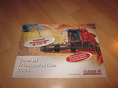 Prospekt Descher Frühkauf 2004 Case Axial-FLOW 2300 X-Clusive CT 5050 RBX341 Top