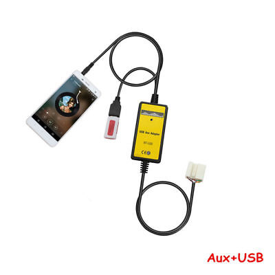 Car Aux-in Adapter MP3 Player Radio Interface Fit For Honda 2.4