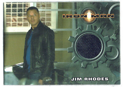 Iron Man 1st Movie Costume Card Terrence Howard as Jim Rhodes Jeans
