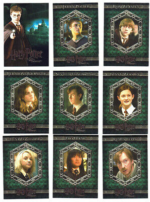 Harry Potter and the Order of The Phoenix OOTP Complete 90 Card Base Set ArtBox