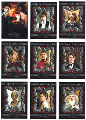 Harry Potter and the Goblet of Fire GoF Complete 90 Card Base Set ArtBox