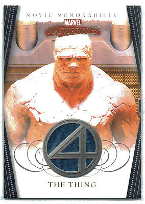 Marvel Masterpieces 2 II Fantastic Four Costume Wardrobe Card Thing FF4 of 5