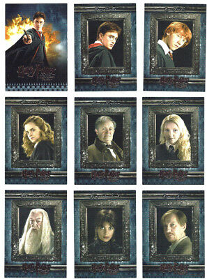 Harry Potter and the Half-Blood Prince HBP Complete 90 Card Base Set ArtBox