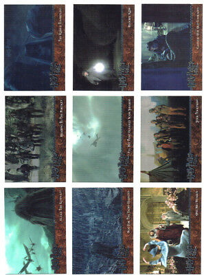 Harry Potter and the Goblet of Fire Update GoF Complete 90 Card Base Set ArtBox