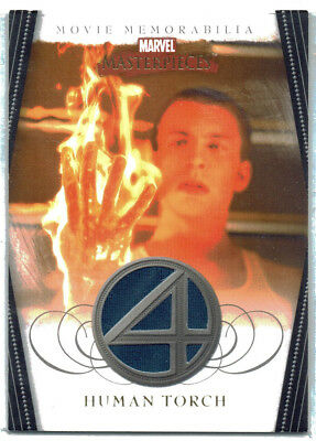Marvel Masterpieces 2 II Fantastic Four Costume Card Human Torch FF3 of 5