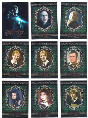 Harry Potter and the Order of The Phoenix Update Complete 90 Card Base Set