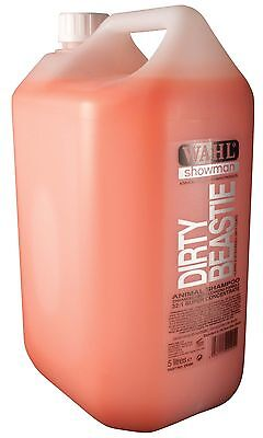 WAHL Dirty Beastie Shampoo 5L 32 to 1 Super Concentrate