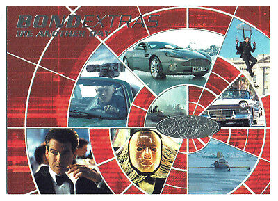 James Bond 40th Anniversary Die Another Day Expansion Card BE0020 Bond Extras