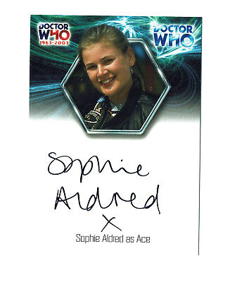 Doctor Who 40th Anniversary Autograph Card WA6 Sophie Aldred as Ace