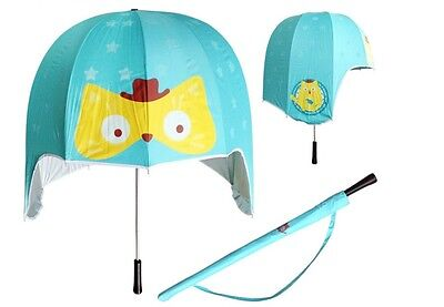 Helmet Umbrella -- New Dome Style Umbrella for Adults and Children
