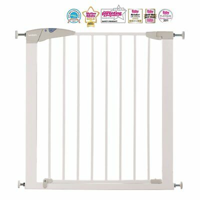 Lindam Extending Metal Safety 1st Gate Toddler Protection Push To Shut Closing