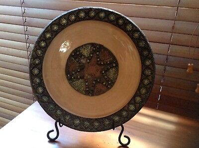 MORROCAN PLATE & Stand