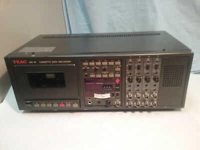 Vintage TEAC CASSETTE DATA RECORDER Model:MR-10 Perfect Working Condition