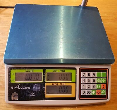 E-Accura PAI 2 weighting scales butcher fruit grocer corner shop counter weight