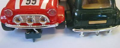Really Useful Spares Repro Scalextric Bumpers RUB04 C7 MINI COOPER  PAIR ft/rear