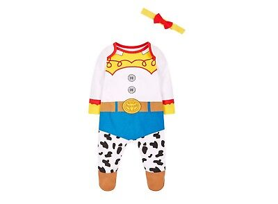 Disney Jessie Toy Story babygrow sleep suit 3-6 Months Romper All In One