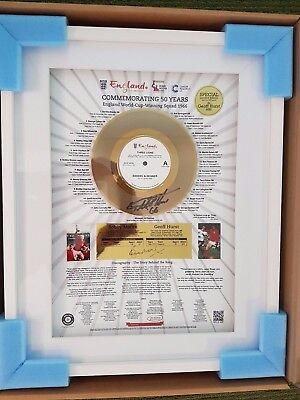 Three lions golden vinyl : 50 years since England's World Cup 1966 triumph