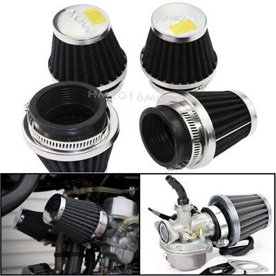 4x 52mm Air Filter Cleaners Pod For Yamaha XJ 600 650 700 750 900 FZX700 FJ600