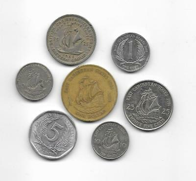 Lote monedas  EAST CARIBBEAN STATES / Lot  coins