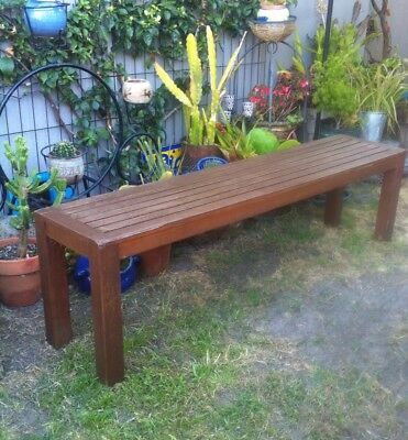 Outdoor Wooden Bench/ Pot Stand
