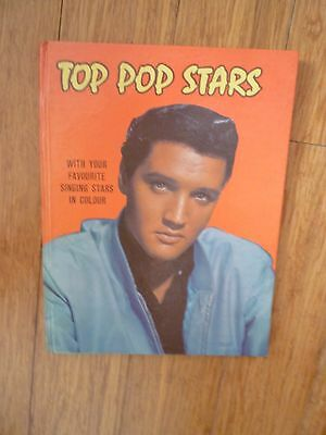 1960s BOOK OF RECORD STARS ANNUAL including Elvis Presley, the Beatles.