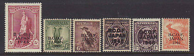 1946 BCOF Set without the 2/ ,the Set is MNH AS PER SCAN.