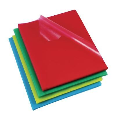 Rexel A4 Assorted Cut Flush Folders (Pack of 100) 12216AS [RX12216A]