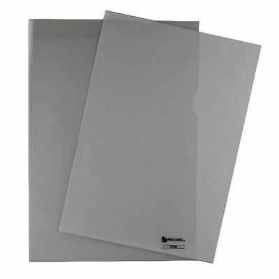 Rexel Nyrex Cut Back Folder Polypropylene A4 Clear (Pack of 100) CGFA4 [RX12224]