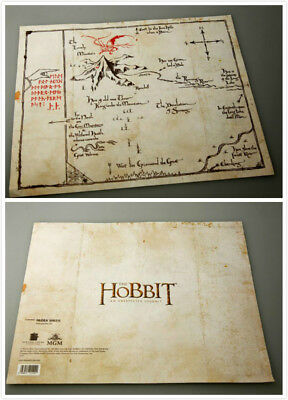 THE-Lord-of-The-Rings-Middle Earth The Hobbit Sorin treasure map Prop collect