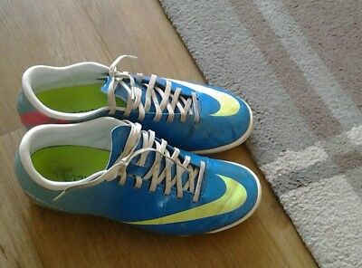 NIKE mercurial astro turf trainers size 6.5 great cond FREE POSTAGE!!