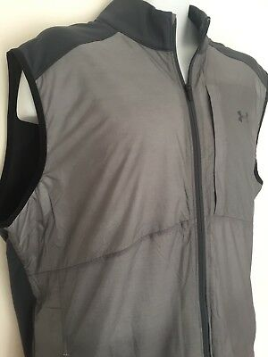 Under Armour Golf Cgi Insulated Vest Gilet 1281275 Colour Grey / Silver Size Xxl