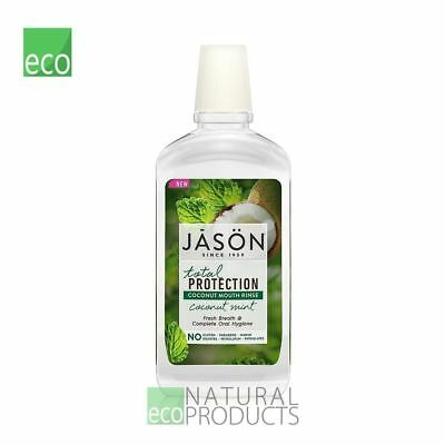 Jason Organic Mouthwash Coconut Mint Total Protection 474ml