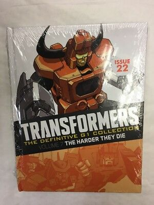 Transformers Graphic Novel Collection G1 Vol 7 Issue 22 The Harder They Die