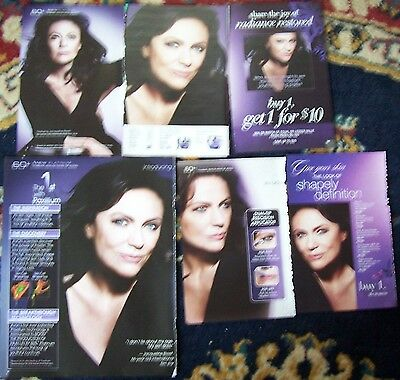 Small batch of 6 Jacqueline Bissett Magazine Clippings from Avon literature