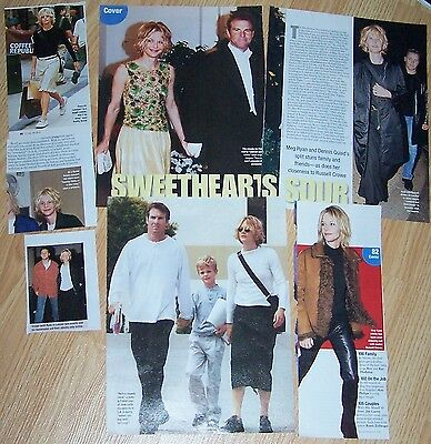 Meg Ryan Magazine Clippings Small Lot