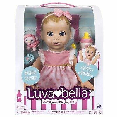 Luvabella Blonde Doll Brand New Boxed - The Must have Christmas Gift