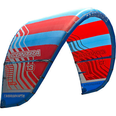Cabrinha Contra 2017 Kite only C1 Red/Blue *ON SALE BEI WINDSPORT*